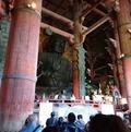 奈良県ユニセフ協会設立20周年記念行事、東大寺で歌の奉納